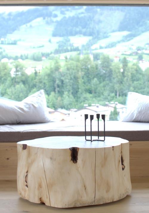 Wohnzimmertisch Vintage  Wohnzimmertisch aus Zirbenholz