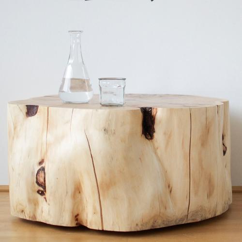 Wohnzimmertisch aus Zirbenholz