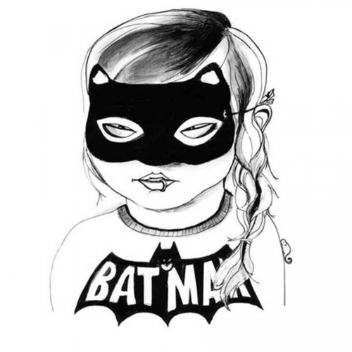 Kunstdruck - Batgirl