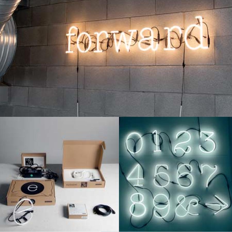 system zubeh r neon letters von seletti heimelig shop. Black Bedroom Furniture Sets. Home Design Ideas