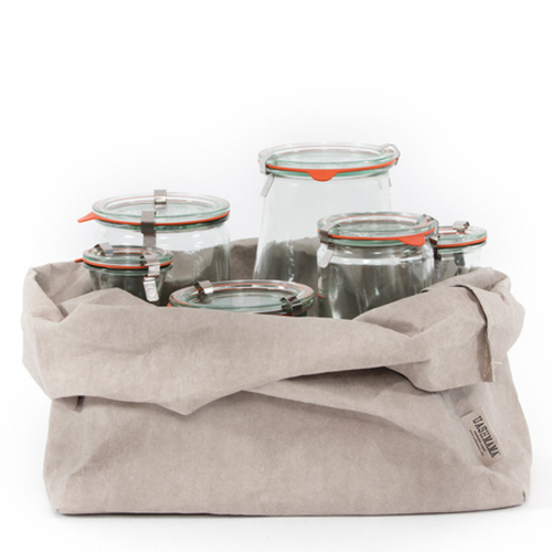 ALLE FARBEN - washable paper bag - VASSOIO