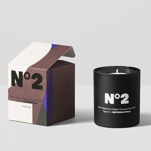 Scented Candle - Composition Nr.2