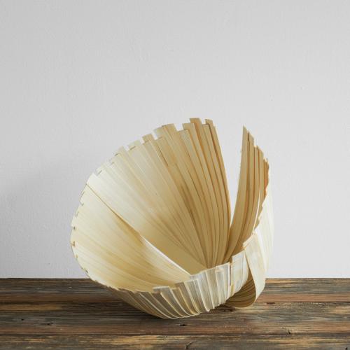 Dekoschale aus Bambus