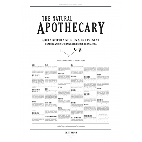 Poster NATURAL APOTHECARY - Dry Things