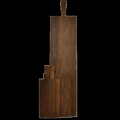 Wooden chopping board dark oak - Raumgestalt