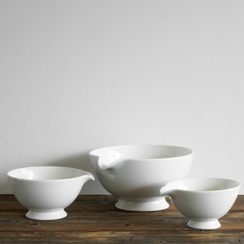 Mixing bowl set made of porcelain 3 sizes - House Doctor