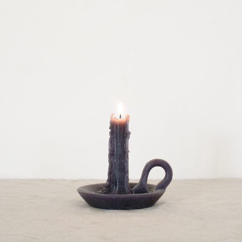 Tallow candle black velvet - Ontwerpduo