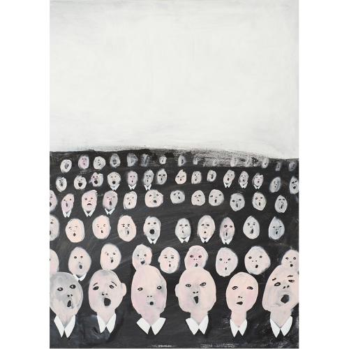 Kunstdruck CROWD Emilia Ilke