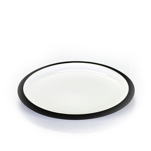 Dessert plate black DAILY BEGINNINGS - Catherine Lovatt for Serax