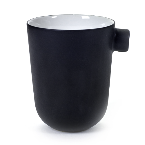 Kaffeetasse schwarz DAILY BEGINNINGS - Catherine Lovatt
