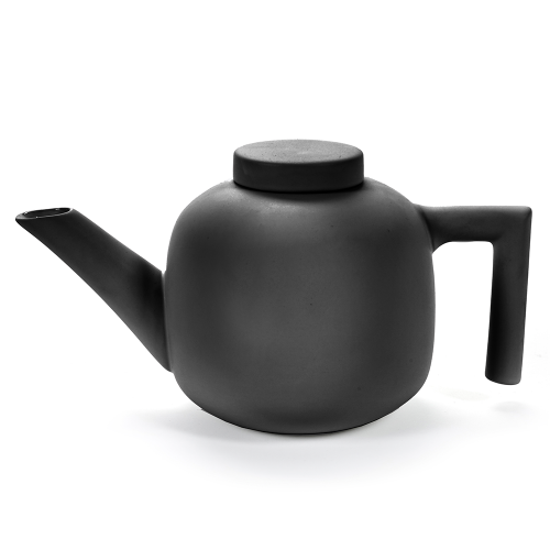 Teapot black DAILY BEGINNINGS - Catherine Lovatt for Serax