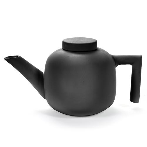 Teekanne schwarz DAILY BEGINNINGS - Catherine Lovatt für Serax