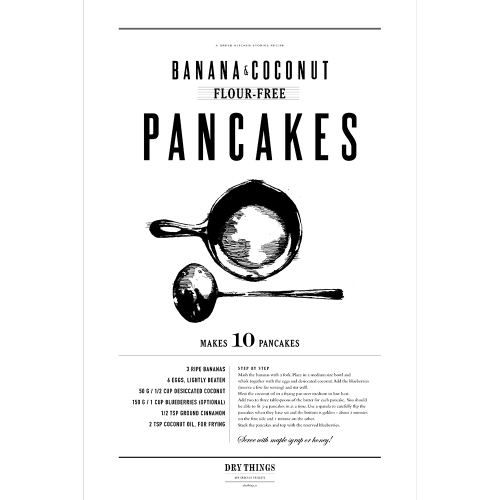 Poster PANCAKES - Dry Things