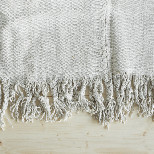 prïvate0204 - handmade prewashed vintage hemp rug nature