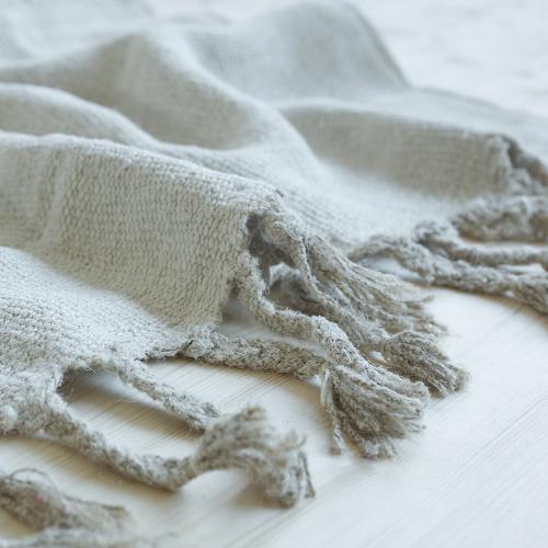 prïvate0204 - handgemachter Vintage Hemp Teppich natur